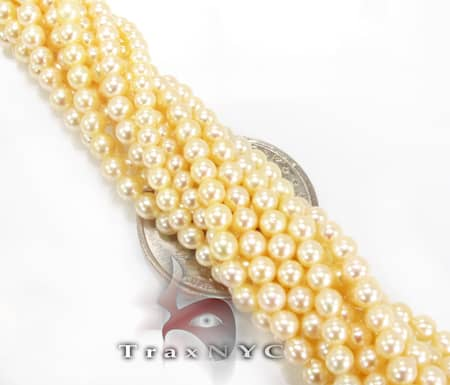 12 Strand Fresh Water Pearl Necklace Pearl