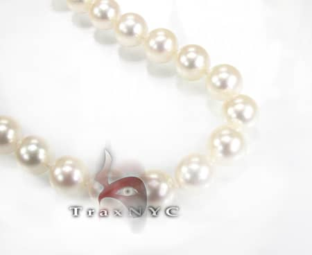 Ladies Pearl Necklace 8mm Pearl