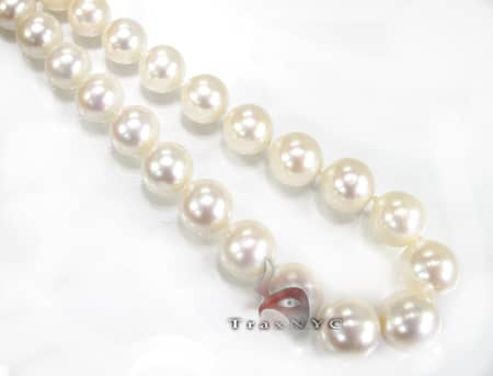 Salt Water Pearl Necklace 12mm Pearl