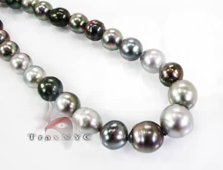 Tahitian Pearl Necklace Pearl