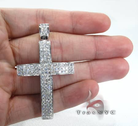 Thunder Cross Crucifix Diamond