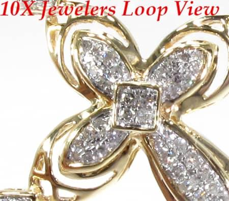 Surreal Cross Crucifix Diamond