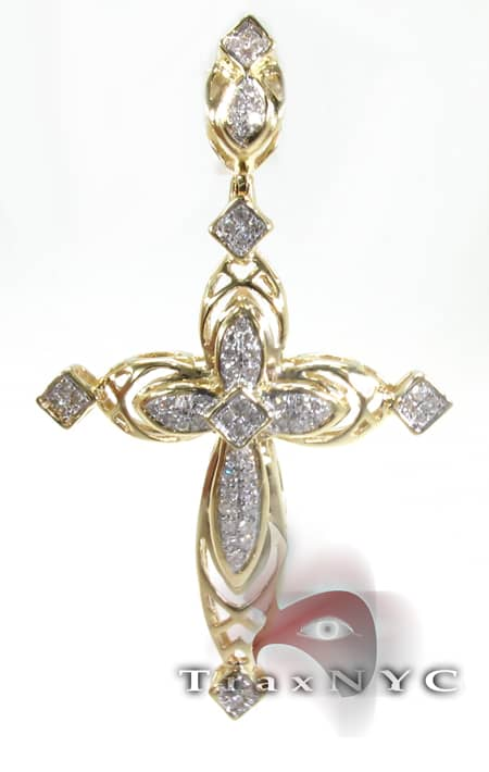 Surreal Cross Crucifix Diamond