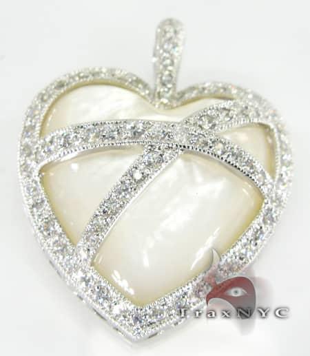 Heart Sterling Silver Pendant 4 Metal
