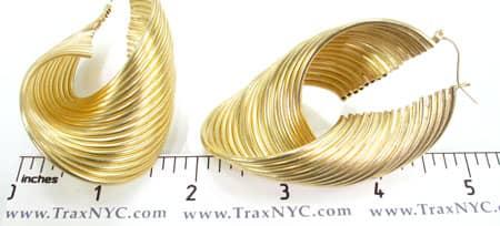 Golden Earrings Metal