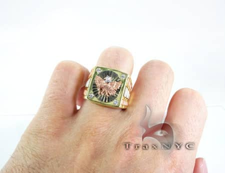 Golden Eagle Ring 3 Metal