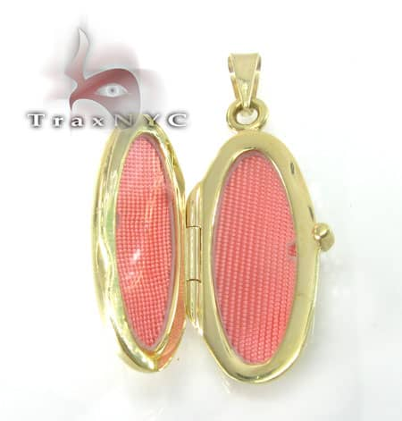 Two Tone Gold Locket 2 Metal
