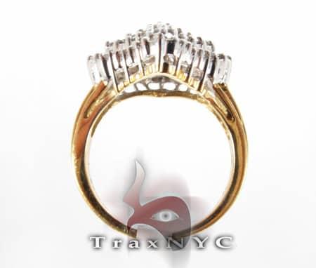 Prong Set Pyramid Ring Anniversary/Fashion