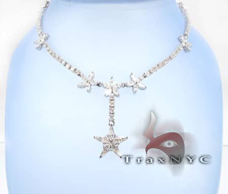 Star Necklace Diamond