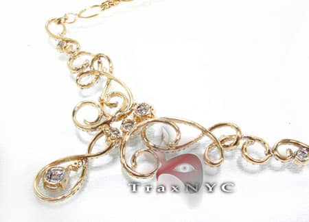 Yellow Passion Necklace Diamond