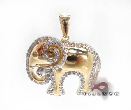 Elephant Pendant Stone