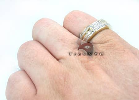 14K Yellow Gold Diamond Prague Ring Anniversary/Fashion