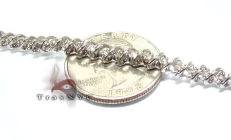 Tunnel Bracelet Diamond