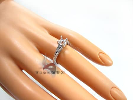 Ladies Fortune Semi Mount Ring Engagement