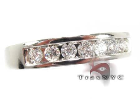 White Octostone Ring 8574 Stone