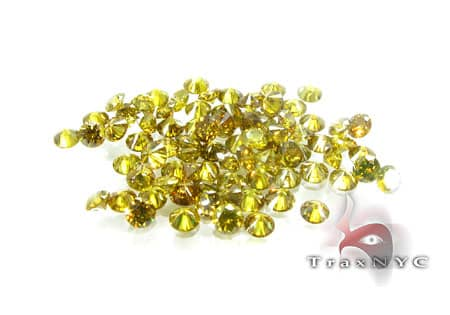 Pointer Intense Canary Parcel Loose-Diamonds