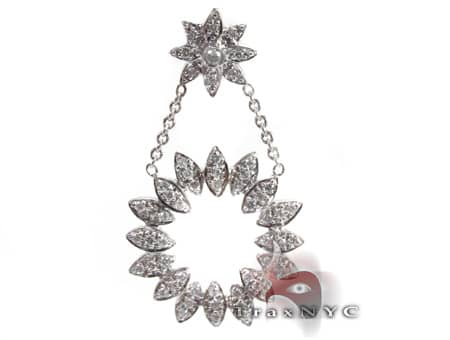Ladies Eternity Pendant Stone