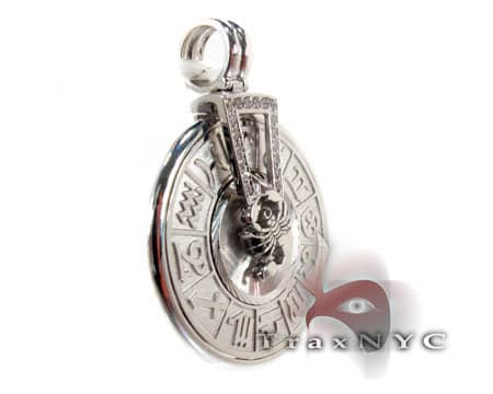 WG Spinning Horoscope Custom Pendant Metal