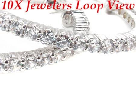 Sterling Silver Hoop Earrings 11 Metal