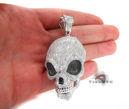 Demon Skull Pendant Metal
