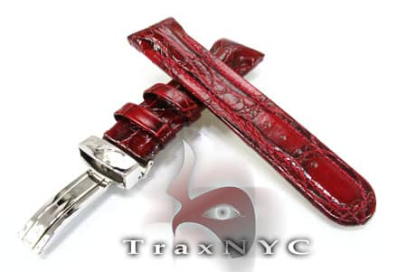 Joe Rodeo Maroon Leather Band 22mm 9350 Watch Accessories