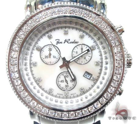 White 1 Row Junior Bezel Watch Accessories