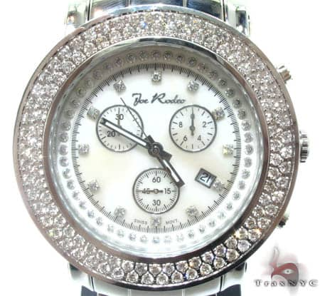 White 2 Row Junior Bezel Watch Accessories