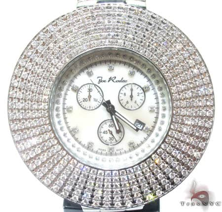 White 6 Row Junior Bezel Watch Accessories