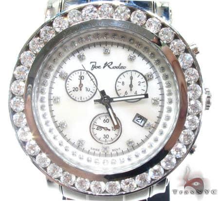 White Large 1 Row Junior Bezel Watch Accessories