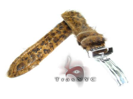 Joe Rodeo Leopard Leather Band 22mm Watch Accessories
