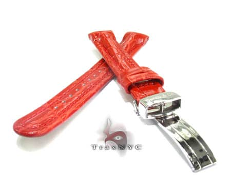 Benny & Co Ladies Red Leather  Band Watch Accessories