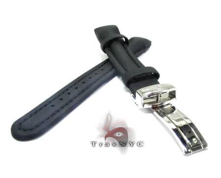 Benny & Co Ladies Black Polyurethane  Band Watch Accessories