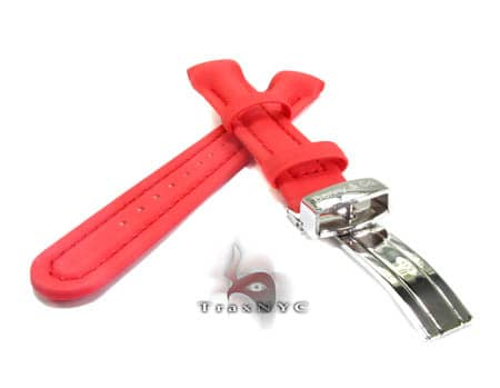 Benny & Co Ladies Red Polyurethane  Band Watch Accessories