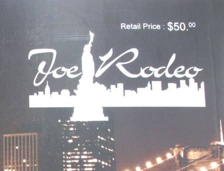 Joe Rodeo Catalog WHOLESALE Booklet Watch Accessories