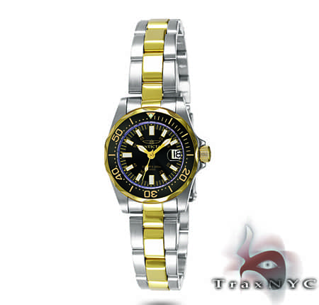 Pro Diver Sapphire QTZ TT SS Black Dial Invicta Watches