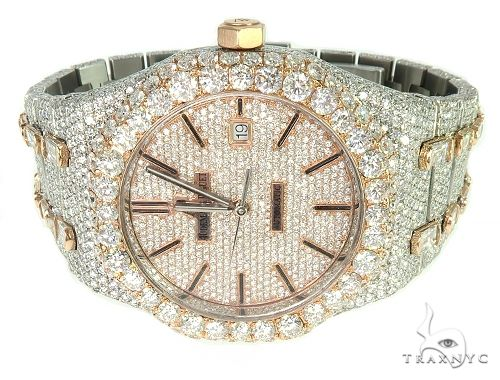 AUDEMARS PIGUET MENS DIAMOND WATCH FULLY ICED OUT ROYAL OAK 65945 Audemars Piguet Watches