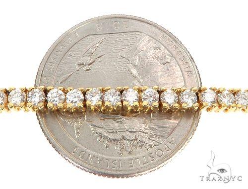 Aaron Hicks 14K Yellow Gold Diamond Chain 64777 Diamond