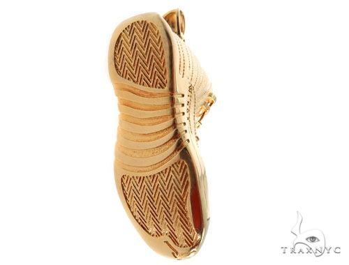 Air Jordan 12 Sneaker Shoe Charm Pendant Metal