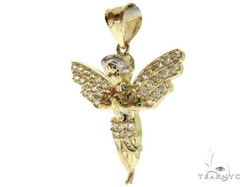 Andgel Gold Pendant 43051 Metal