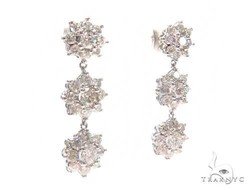 Anemone Prong Diamond Chandelier Earrings 44613 Style