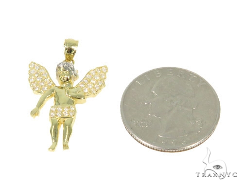 Angel Gold Pendant 44939 Metal