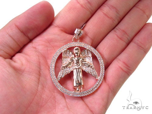 Angel Silver Pendant 36590 Metal