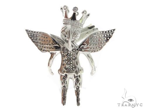 Angel Silver Pendant 56441 Metal