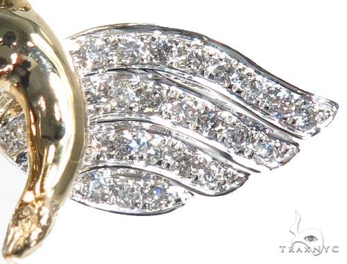 Angel with Crown Pendant 41530 Metal