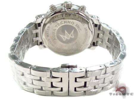 Aqua Techno Diamond with Mother of Pearl Chronograph Dial Watch Aqua Techno