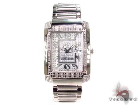 Aqua Techno Diamond & Steel Watch Aqua Techno