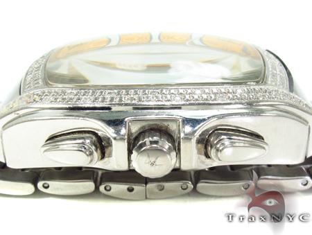 Aqua Techno Yellow Steel & Diamond Watch Aqua Techno