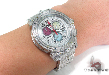 Aqua Techno Diamond with Stainless Steel Watch Aqua Techno
