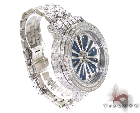 Aqua Techno Speeding Blue Color Dial with Blue Color Diamond Watch Aqua Techno