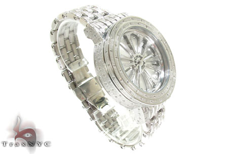 Aqua Techno Speeding White Color Dial with White Color Diamond Watch Aqua Techno